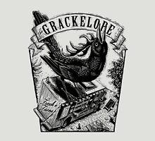 The Grackelope (black and white) Unisex T-Shirt