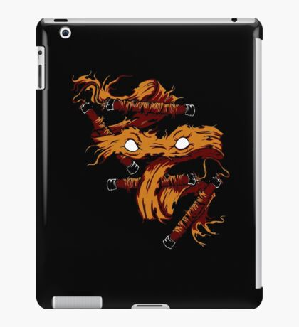 Orange Rage iPad Case/Skin