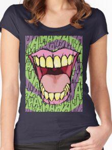 A Killer Joke - spiral Women's Fitted Scoop T-Shirt