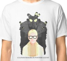 """FNV: Arcade Gannon - """"Culpam maiorum posteri luunt."""" Classic T-Shirt"""