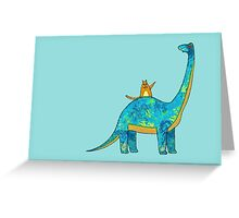 """HE'S EXTINCT TOO"" Greeting Card"