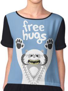 Monster Hugs Chiffon Top