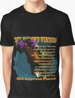 Triple Crown Winners 2015 Graphic T-Shirt