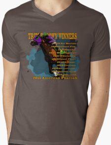 Triple Crown Winners 2015 Mens V-Neck T-Shirt