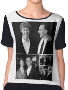 Benedict Cumberbatch and Tom Hiddleston Chiffon Top