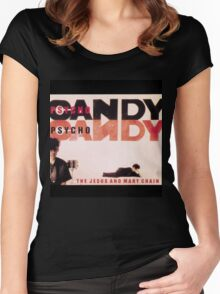 Psychocandy Women's Fitted Scoop T-Shirt