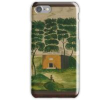 American School 19th Century THE TOMB OF WASHINGTON'S FAMILY iPhone Case/Skin