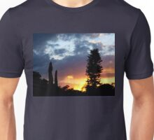 Sunset on my street Unisex T-Shirt