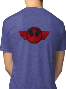 Rebel Alliance flight logo Tri-blend T-Shirt