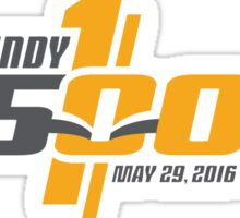 Indianapolis Motor Speedway 500 - 100th (LARGE) Sticker