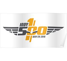Indianapolis Motor Speedway 500 - 100th (LARGE) Poster