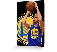 Warriors Shots Greeting Card