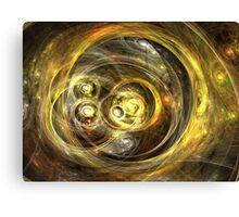 Binary Suns Canvas Print