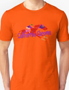 Fun California Chrome Design Unisex T-Shirt