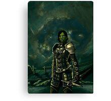 Skyrim - Shro-gan vampire hunter Canvas Print