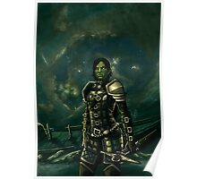 Skyrim - Shro-gan vampire hunter Poster