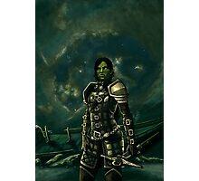 Skyrim - Shro-gan vampire hunter Photographic Print