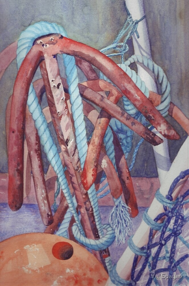 Anchors  by Val Spayne