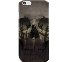 Desolate mind - from the skull collection iPhone Case/Skin