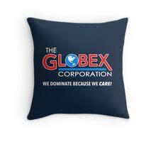 Globex Corporation T-Shirt Throw Pillow
