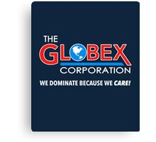 Globex Corporation T-Shirt Canvas Print