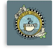 Mad Tea Shoppe Logo Canvas Print
