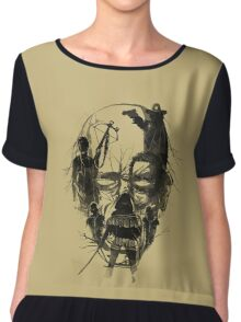 Dead Walker Chiffon Top