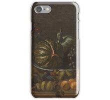 CRESCENZI, GIOVANNI BATTISTA (Rome  Madrid) A still life with fruit and vegetables... iPhone Case/Skin