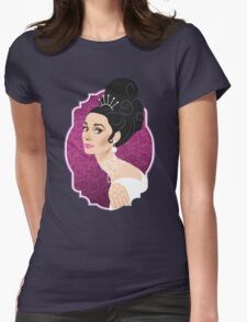 Eliza at the Ball Womens Fitted T-Shirt