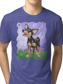 Animal Parade Chihuahua Tri-blend T-Shirt