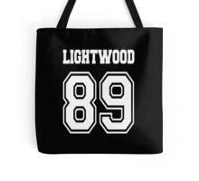 Lightwood 89 White Tote Bag