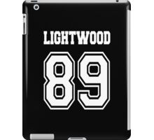Lightwood 89 White iPad Case/Skin