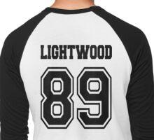 Lightwood 89 Black Men's Baseball ¾ T-Shirt