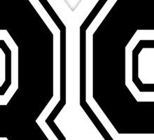Lightwood 89 Black Sticker