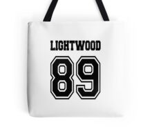 Lightwood 89 Black Tote Bag
