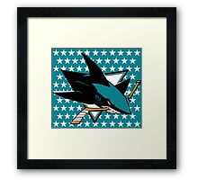 San Jose Sharks Framed Print