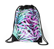 Stay Calm and Palm.  Drawstring Bag