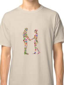 couple abstract Classic T-Shirt