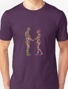 couple abstract Unisex T-Shirt