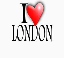I LOVE, LONDON, England, UK, British, Blighty, English, Britain Unisex T-Shirt