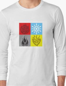 RWBY Symbols Long Sleeve T-Shirt