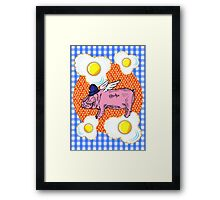Bacon 'n' Eggs Framed Print