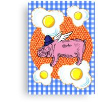 Bacon 'n' Eggs Canvas Print