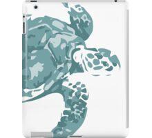Teal Turtle iPad Case/Skin