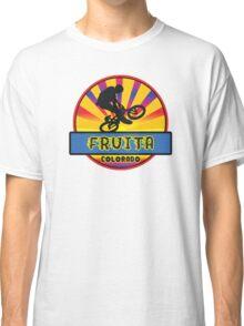 MOUNTAIN BIKE FRUITA COLORADO BIKING MOUNTAINS Classic T-Shirt