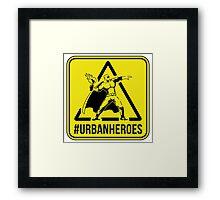 #UH logo Framed Print