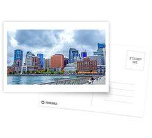 SKYLINE City of San Francisco along the Embarcadero Postcards