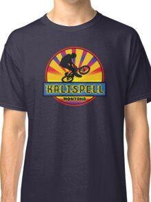 MOUNTAIN BIKE KALLISPELL MONTANA BIKING MOUNTAINS Classic T-Shirt