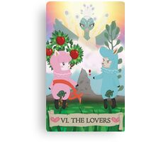 Tarot - VI The Lovers: Reese and Cyrus ACNL Canvas Print
