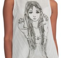 The Girl - Photographer Contrast Tank